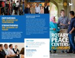 Rotary Peace Fellowship Brochure
